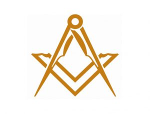 Freemasons Lapel - Gold